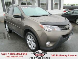 2014 Toyota RAV4 Limited with Leather $206.87 BI WEEKLY!!!
