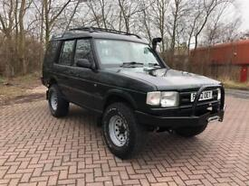 P REG LAND ROVER DISCOVERY 2.5 TDi S 5DR-JAPAN IMPORT-GENUINE MILES-12 MONTHS MOT-AUTOMATIC-GOOD 4X4