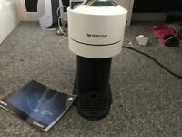 Nespresso Vertuo white coffee machine by Magimix