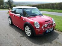CAR SWAP - RED MINI COOPER S WITH LONG MOT & HISTORY