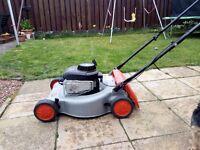 Petrol lawn flymo