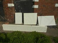 RADIATORS - 9 radiators. Various Sizes. Doubles and Singles