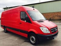 Mercedes sprinter van 2009 model 311 cdi lwb high roof 2 owner crew cab drives and looks great