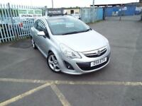2011 VAUXHALL CORSA 1.4 SRI 3 DOOR , 3 MONTH WARRANTY, PX WELCOME **FINANCE AVAILABLE**