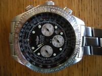 Breitling B2 Chronograph Automatic Pilots watch . Very good condition and all papers and boxes