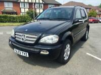 Mercedes m class in excellent condition