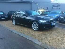 2006 56 BMW 320D M SPORT AUTO .... FULL LEATHER ....... 92K ....... P/X WELCOME