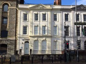 Exceptional serviced offices - unique listed Georgian Townhouse on Bristol's harbourside (Prince St)