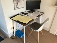 OFFICE DESK AND CHAIR COMBO FOR SALE - £100 O.N.O