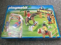 PlayMobil 4185 Dressage Show Jumping Set plus bonus free toys
