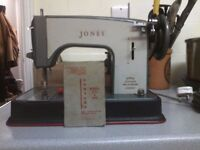Jones cylinder shuttle sewing machine