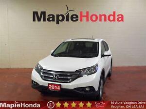 2014 Honda CR-V Touring Navigation,Leather, All-Wheel Drive!