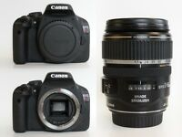 Canon EOS 550D & Canon EF-S 17-85mm f/4-5.6 IS USM - Plus Accessories - Amazing Condition