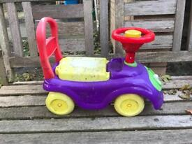 Ride-on toy free to pick up