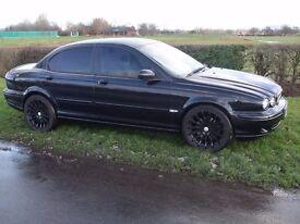 jaguar x type black 06