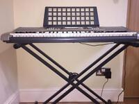 Yamaha PSRE313 61 Key keyboard with stand