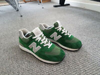 New Balance 574 Green Size 8 Trainers