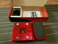 Multi effects vocal processor pedal