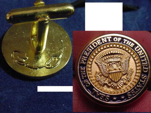 Pair of  new  presidential barack obama cufflinks   Diecast