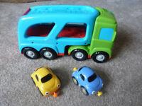 ELC WHIZZ WORLD CAR TRANSPORTER
