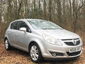 Vauxhall Corsa 1.4 i 16v Design 5dr (a/c) 2008 - AA Inspection report, p/x welcome
