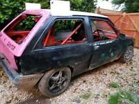 Vauxhall Nova built ready to race