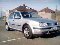 VW golf for sale 1.4