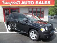 2007 Jeep Compass SPORT, ONLY 102KM!! 5SPD GAS SAVER!! AIR!! ALL