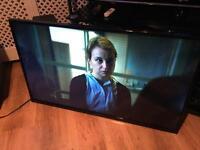 """42"""" hitachi led smart TV free view HDMI USB ext"""