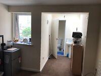 Stevenage studio flat for rent town centre location free wifi