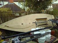 Laser Sailing Boat