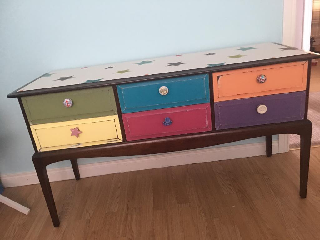Hand upscaled drawers