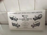 Set of Classic Truck Miniatures (Reader's Digest) - Decorative use