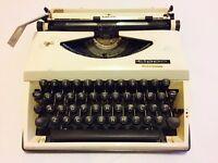 Vintage Adler Tippa 1 1960's Portable Typewriter