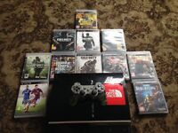 PS3 all leads pad and games