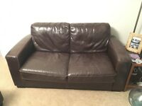 Used leather sofas - 2&3 Seater