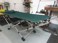 Fold away camp beds