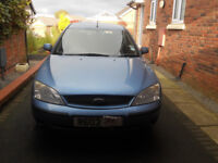 2003 ford mondeo with 6 months m.o.t