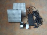LED Hydroponics Indoor Plant Growing Kit. 6 Lights, Timer, Power Protector & Conditioner.