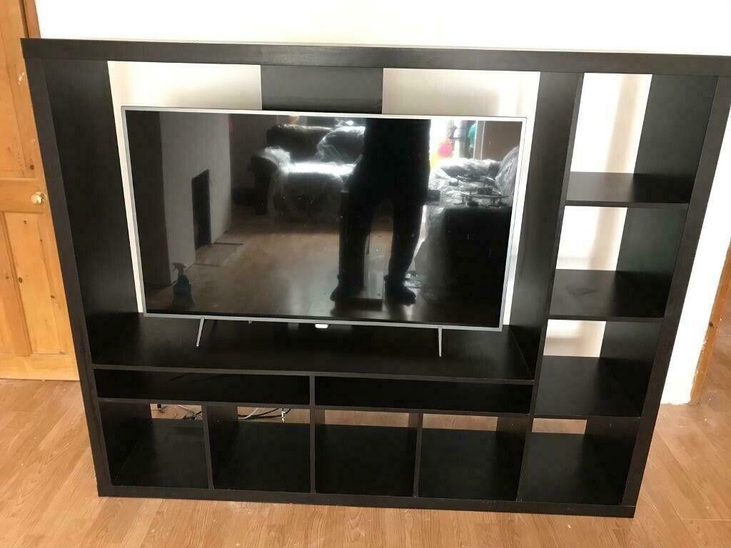 Ikea Lappland Tv Television Storage Unit Blackbrown In Basildon