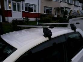 Skoda citigo roof bars.