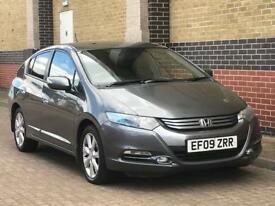 HONDA INSIGHT HYBRID 2009 5 DOORS AUTOMATIC F MAIN DEALER HISTORY 12 MONTHS MOT