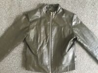 Womens leather jacket *REAL*