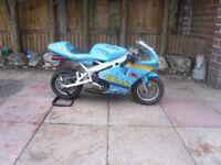 rizla suzuki colors mini moto minimoto 50cc ideal for kids fun