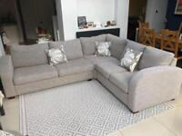 3 Piece Corner Sofa with Double Bed