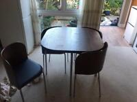 Ikea fusion dining table and chairs