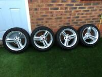 """Smart roadster 16"""" spikeline alloy wheels"""