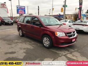 2016 Dodge Grand Caravan SE | AUTO LOANS APPROVED | APPLY TODAY