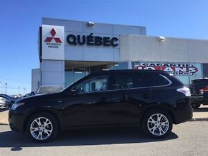2014 Mitsubishi Outlander GT S-AWD  V6 Cuir & Toit 7places