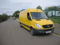 2008 MERCEDES BENZ SPRINTER 311 2.2 CDI LWB 3.5t High Roof Van